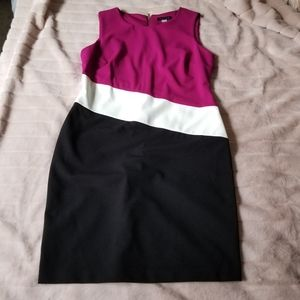 Tommy Hilfiger Colorblock Sleeveless Dress